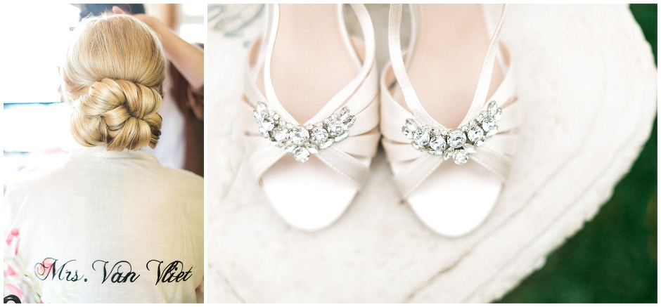 white and jeweled shoes
