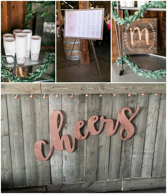 copper cheers sign